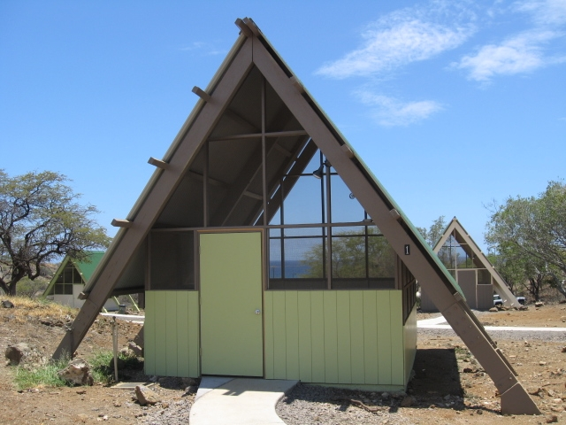 hawaii camping reservation reservations Hapuna Beach Cabins