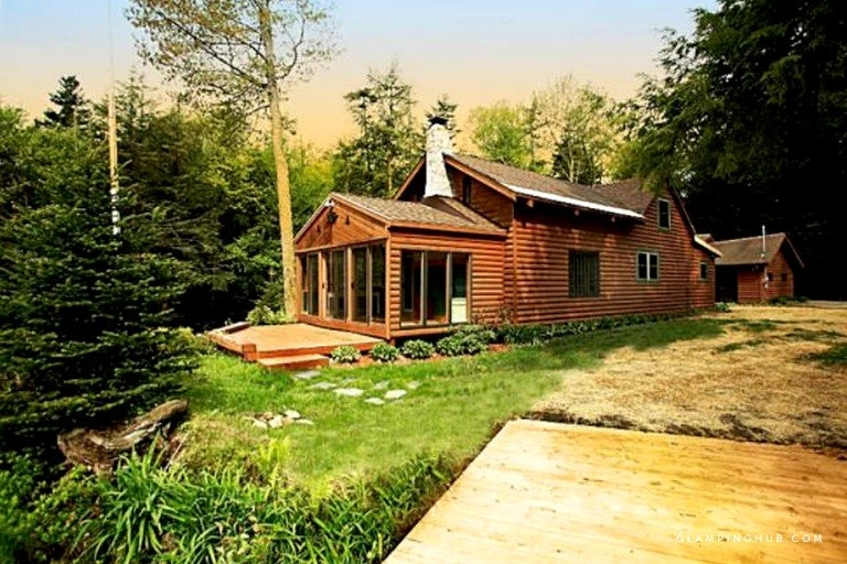 lakefront cabin getaway near adirondack mountains in salisbury new york Adirondack Mountains Cabins