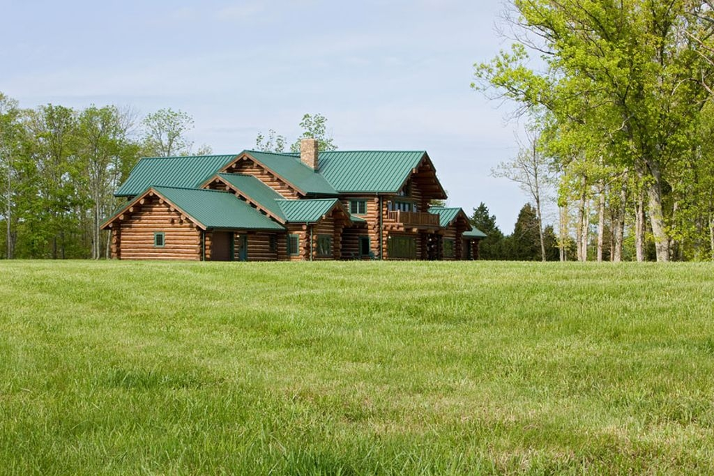 luxurious log lodge great for enjoying family and friends mackville Cabin Creek Lodge