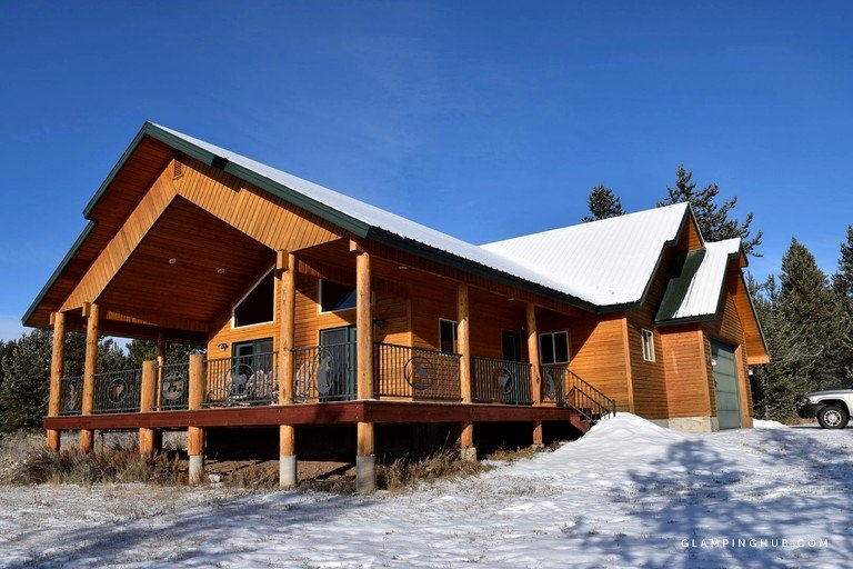 luxury cabin rental close to yellowstone national park in island park idaho Cabins In Island Park