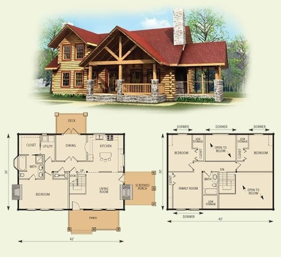 new 4 bedroom log home floor plans new home plans design Log Cabin Floor Plans With 2 Bedrooms And Loft