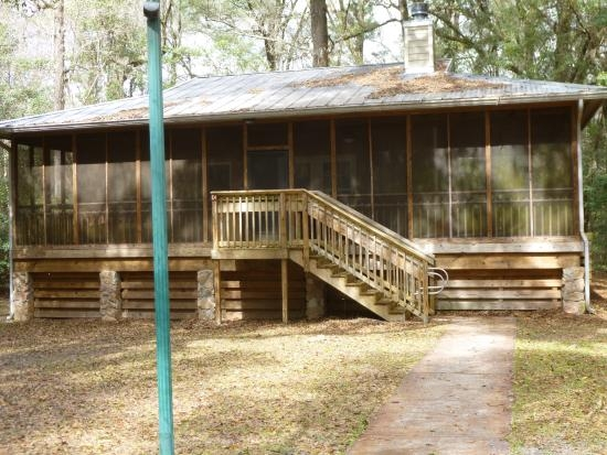 one of our cabins at the park picture of suwannee river Suwannee River State Park Cabins