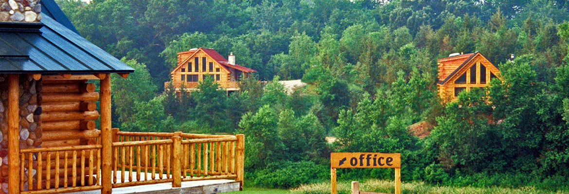 rustic ridge log cabins rustic ridge log cabins in baraboo Wisconsin Dells Log Cabin Rentals