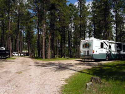 rv sites custer mountain cabins Custer Mountain Cabins