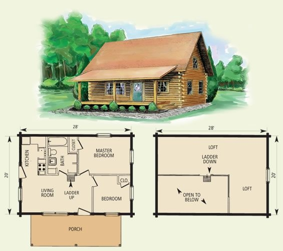 small log cabin floor plans cumberland log home and log Log Cabin Plans