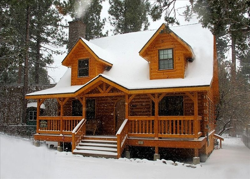 the holiday cabin in big bear cityca has cablesatellite tv Cabin In Big Bear