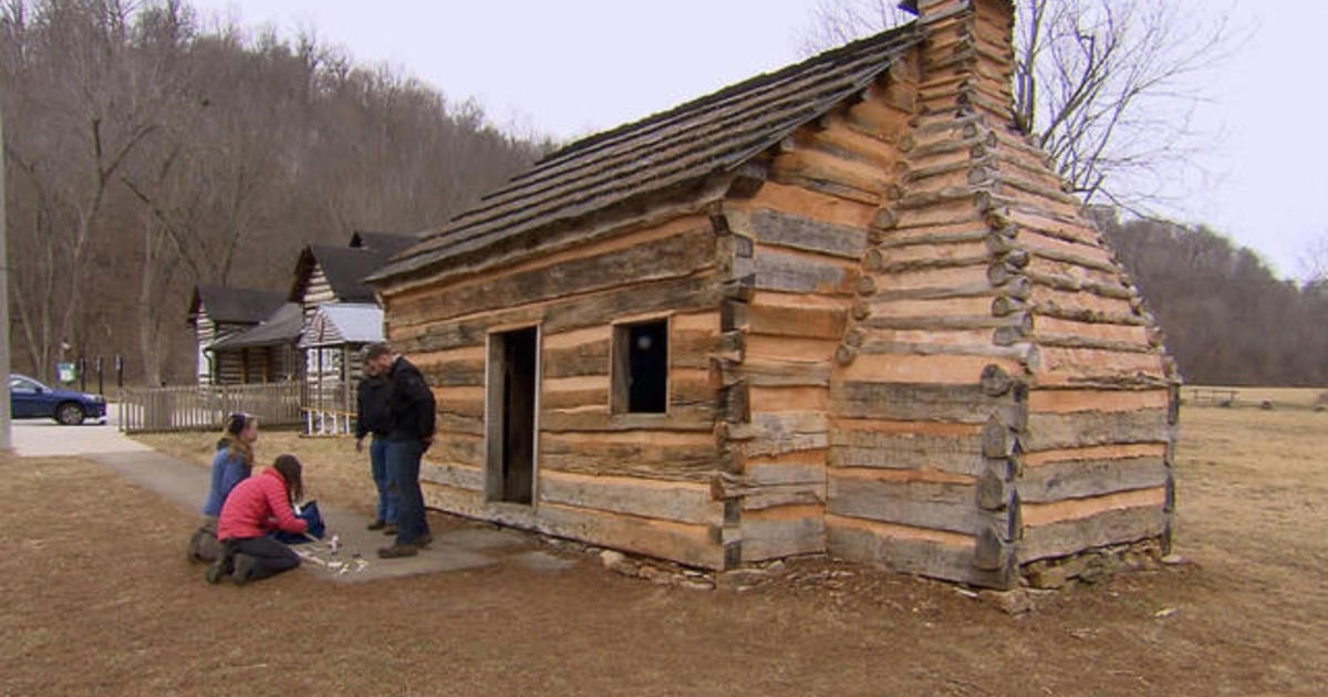 the strange story of lincolns cabins Abraham Lincoln Cabin