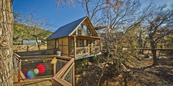 these 5 treehouses in texas will give you an unforgettable Cabins Near New Braunfels Tx