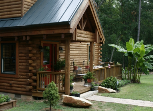 tiny log cabin you can buy from conestoga log homes tiny Buy Cabin In The Woods