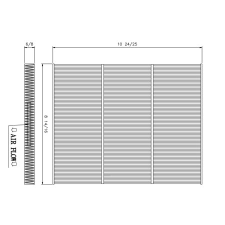 tyc 800187p cabin air filter for 13 16 ford fusion lincoln Tyc Cabin Air Filter