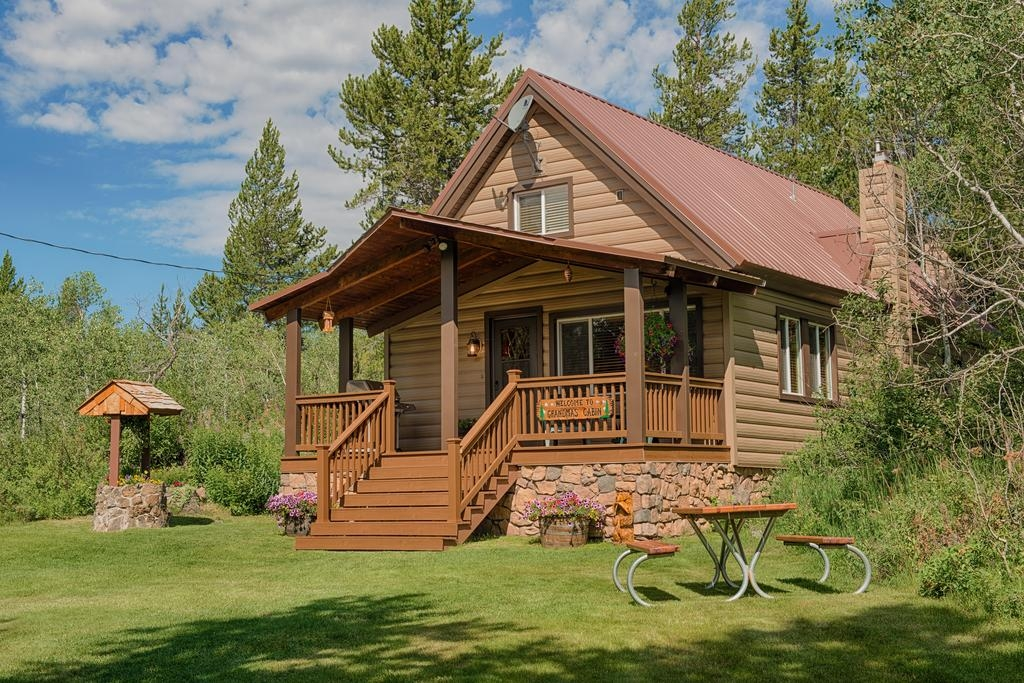 vacation home grandmas cabin island park id booking Cabins In Island Park