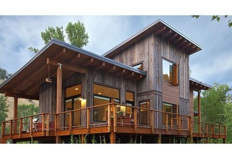 wyoming rustic modern cabin google search in 2019 rustic Contemporary Cabins