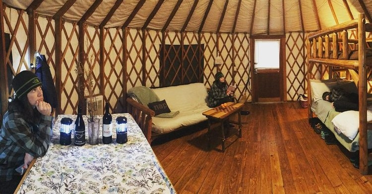 yurts unique accommodations at georgia state parks Georgia State Park Cabins