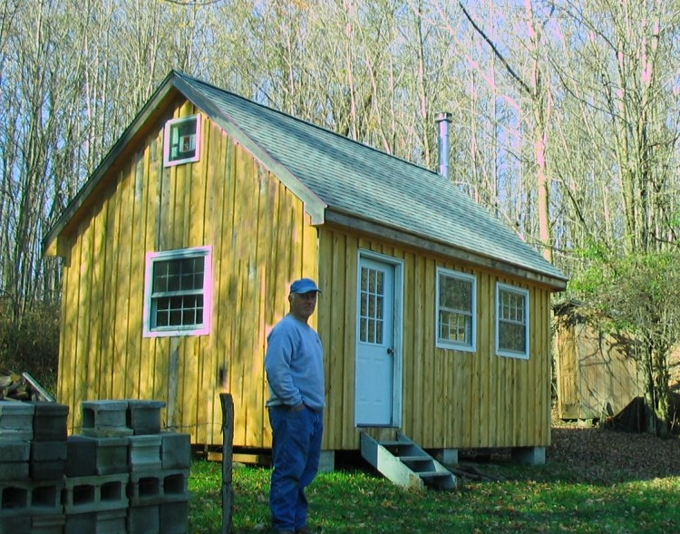 10x20 shed plans with loft download shed plans Small Cabin Plans With Loft 10 X 20