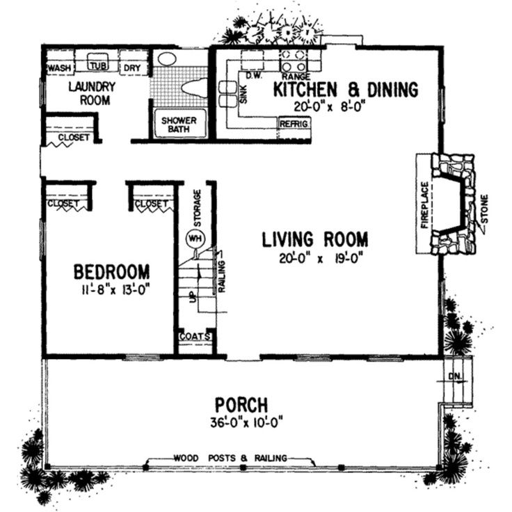 24 x 24 mother in law quarters with laundry room mother in 24x24 Cabin Plans