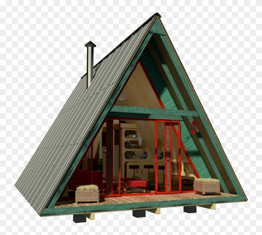 29 ideas free cabin plans with loft graphic black and tiny Free Cabin Plans With Loft