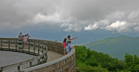 brasstown bald on top of the world in the georgia mountains Brasstown Bald Cabins