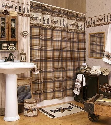 Cabin Bathroom Accessories Gallery