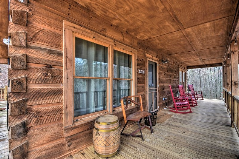 cashiers mountain cabin nestled on taylor creek updated Taylor Creek Cabins