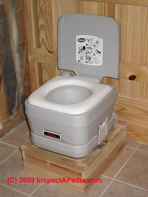 guide to portable chemical toilets how to use clean empty Chemical Toilets For Cabins