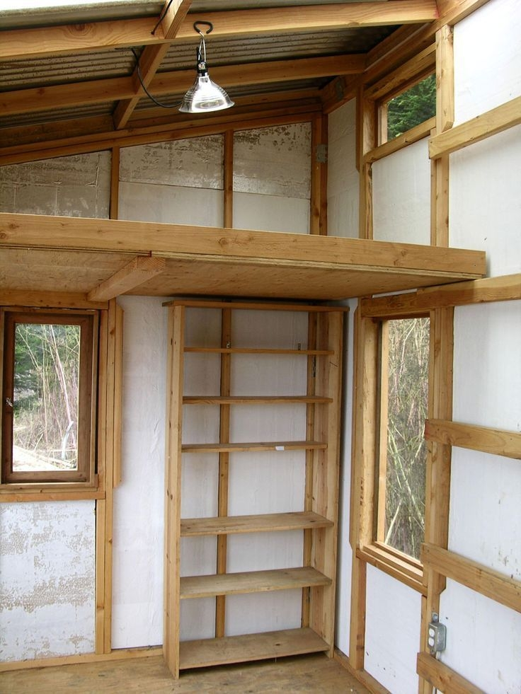 image result for shed roof with sleeping loft 10 x 20 Small Cabin Plans With Loft 10 X 20
