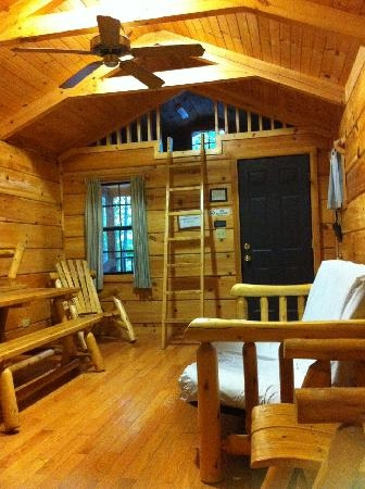 interior of cabin picture of mark twain state park Mark Twain State Park Cabins