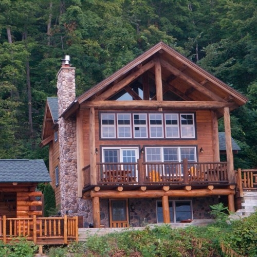 Elegant Cabins Near Lake George Gallery