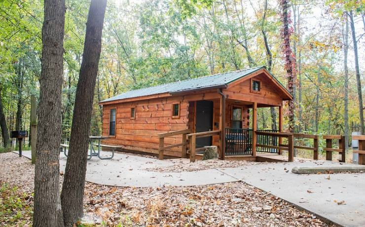 mark twain state park missouri state parks Mark Twain State Park Cabins