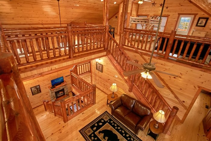 pigeon forge cabin rental with indoor pool 6 Bedroom Cabins In Gatlinburg