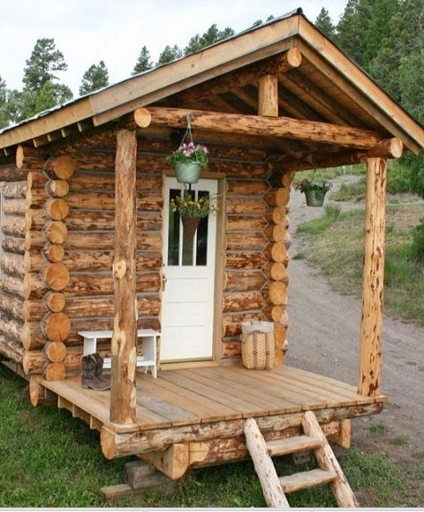 10 diy log cabins learn to build your own for a rustic Wooden Cabins Small