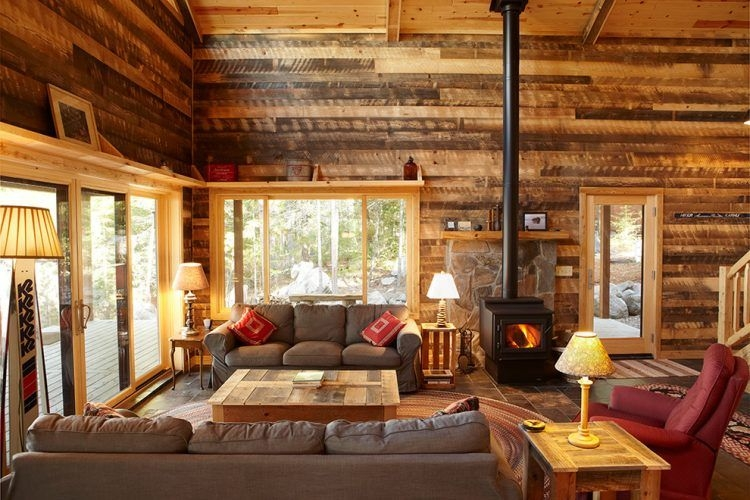 10 gorgeous cabin inspired living room ideas Cabin Living Room Ideas