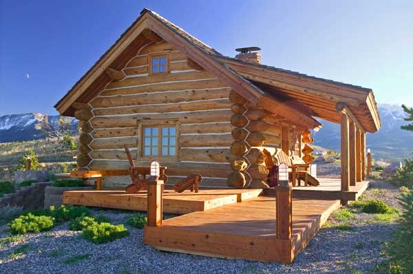 10 inspiring small log cabins Wooden Cabins Small