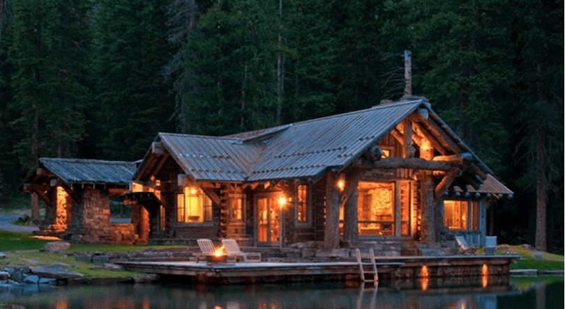 10 rustic log cabins that will make you want to sell your Rustic Cabins