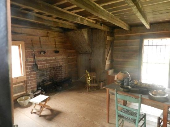15 x 20 foot robert scruggs cabin note stairs to upper 15 By 20 Cabin