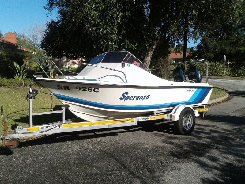 16ft spotless super dolphin george gumtree south africa Gumtree Classifieds South Small Cabin Boats