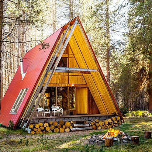 22 beautiful wood cabins and small house designs for diy Wooden Cabin Designs
