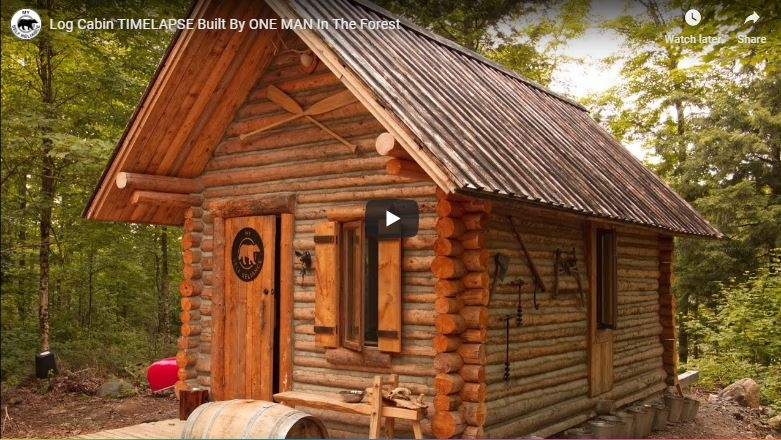 23 diy log cabins build for a rustic lifestyle hand the Wooden Cabin Ideas