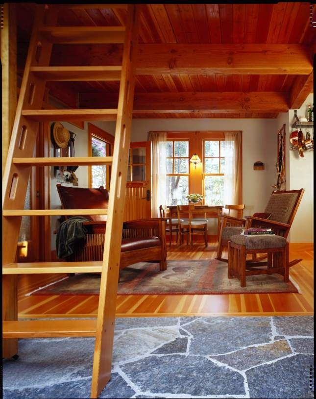 24x24 one bedroom cabin with loft google search tiny Decorating A Small Cabin Loft