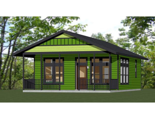 24x30 house 1 bedroom 1 bath 768 sq ft pdf floor 24x30 Shed Roof Cabin Ideas