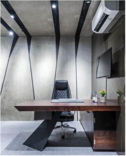 30 best office interiors e book the architects diary Small Office Cabin Interior Design
