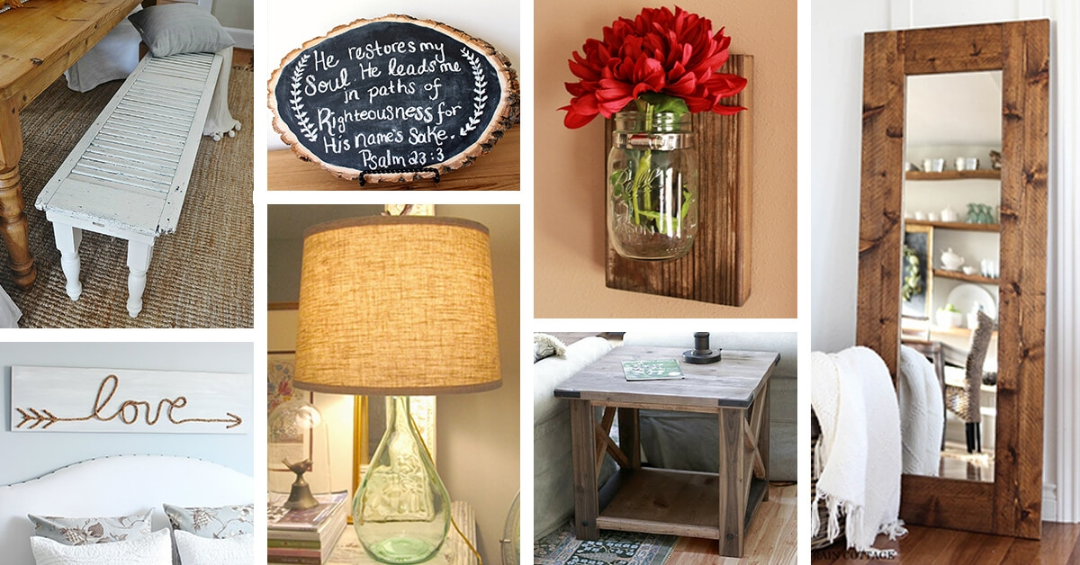 39 best diy rustic home decor ideas and designs for 2020 Diy Cabin Decor