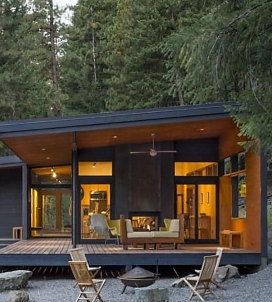 5 affordable modern prefab houses you can buy right now Small Modern Cabin