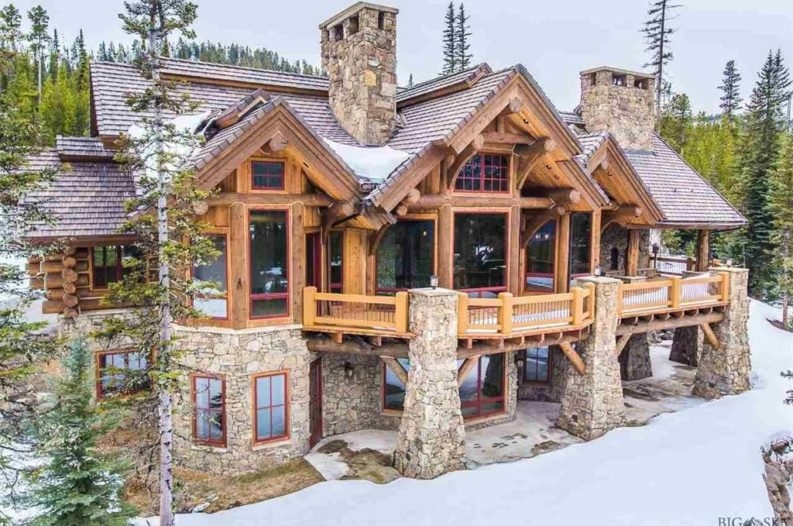 8 of the most stunning log cabin homes in america Cabin House