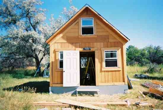 a solar cabin in two weeks for 2000 mother earth news Solar Cabin