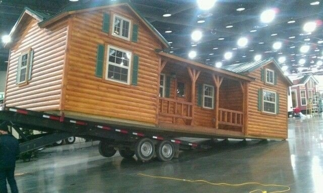 amish cabins this log cabin kit can be yours for 16350 Amish Made Log Cabins