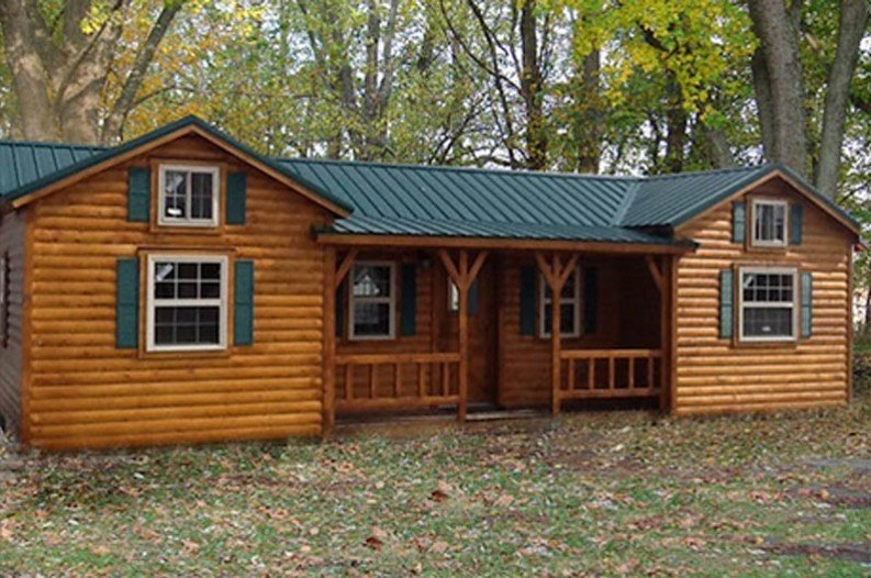 amish cabins this log cabin kit can be yours for 16350 Prefabricated Log Cabin Kits