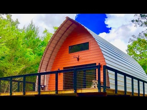 arched cabins build your own home for simple living Arched Cabins