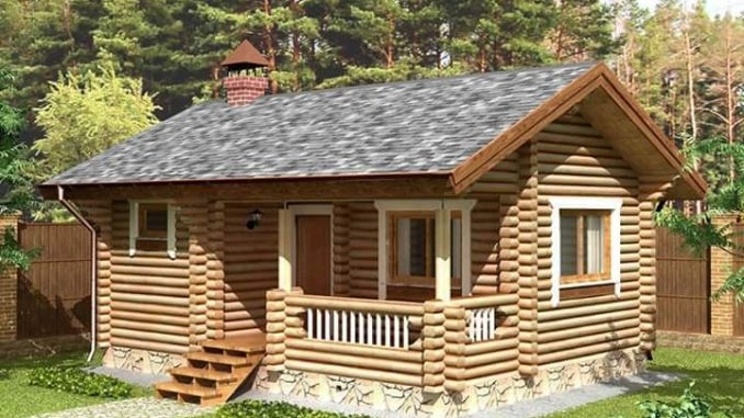 beautiful and simple log cabin homes house and decors Simple Cabin House