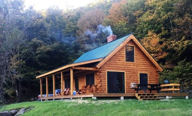 building a tiny texas dream home log cabin kits to do it Small Log Cabin Kits
