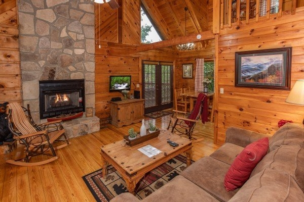 cabin in the woods a pigeon forge cabin rental Cabin In The Woods Rooms